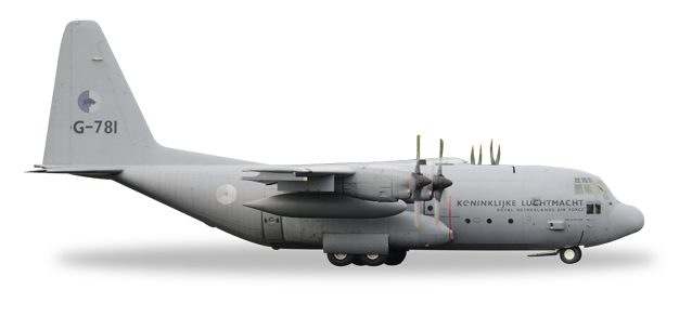 "530477    Lockheed C-130H ""Royal Netherlands Air Force sqd. 336 (NL)"", Herpa Wings"