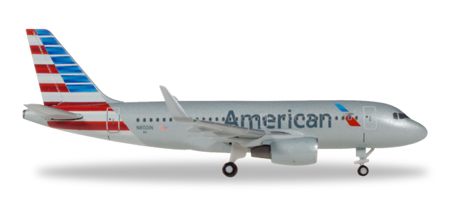 "530835    Airbus A319 ""American Airlines"", Herpa Wings"