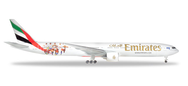 "530880    Boeing 777-300ER ""Emirates HSV"", Herpa Wings"
