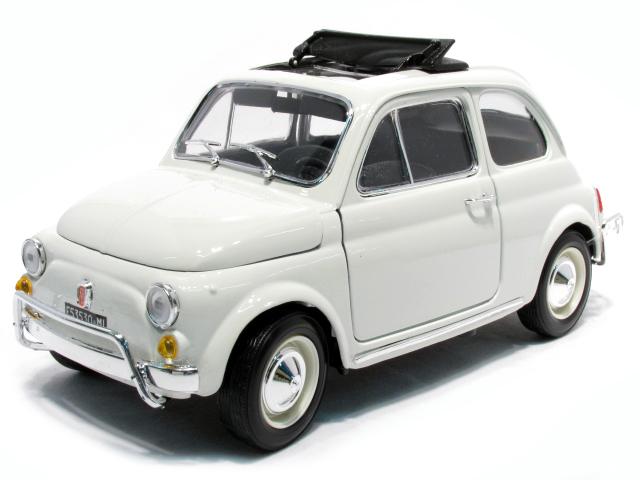 18-12035w  Fiat 500 L 1968, wit, Bburago