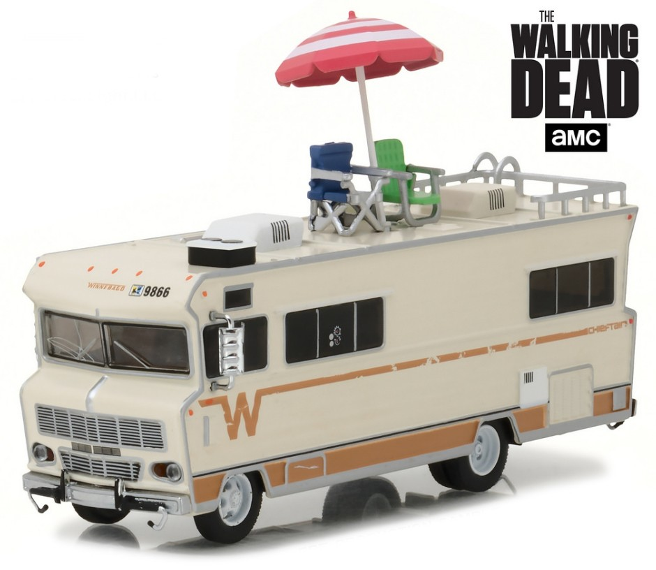 "33100-B    1973 Winnebago Chieftain ""The Walking Dead"", Greenlight"