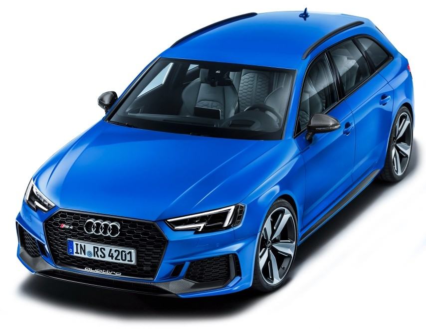 501.17.142.31  Audi RS 4 Avant 2017, blauw, Spark