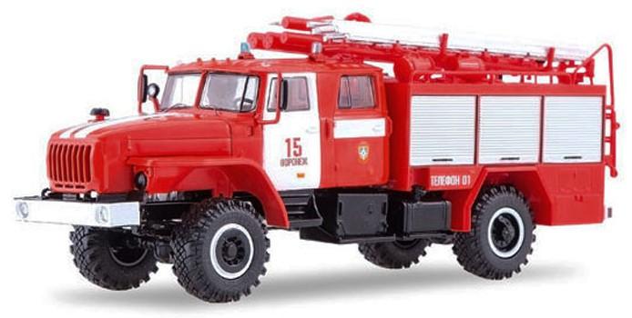 """SSM1236  Ural 43206 Loschfahrzeug PSA-2 """"Woronesch"""", Start Scale Models"""