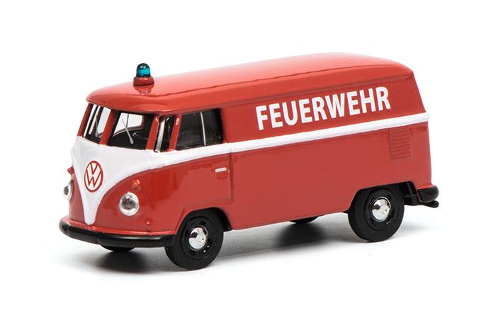 """452016100  VW T1 """"Feuerwehr"""", Schuco"""