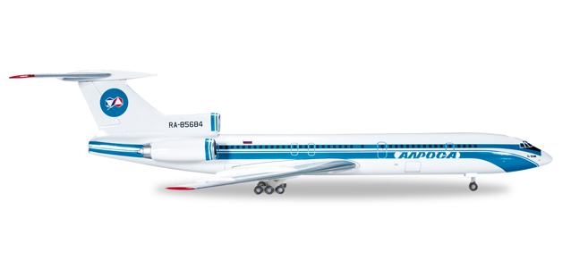 "530996    Tupolev TU-154M ""Alrosa Mirny Air Enterprises"", Herpa Wings"