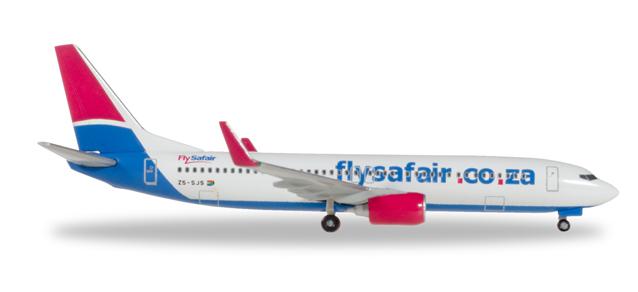 """531085  Boeing 737-800 """"FlySafair"""", Herpa Wings"""