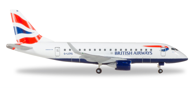 "531092    Embraer E170 ""British Airways Cityflyer"", Herpa Wings"