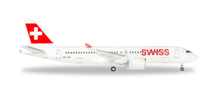 "558952    Bombardier CS300 ""Swiss International Air Lines"", Herpa Wings"