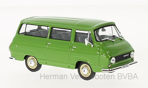 143ABS-705QI  Skoda 1203 Mikrobus, Medium groen, Abrex
