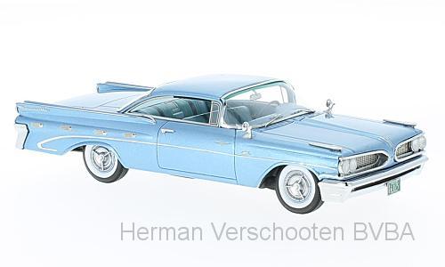 46076  Pontiac Bonneville Hardtop, Lichtblauw, Neoscale Models