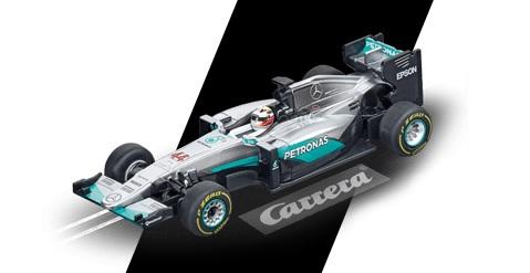 "64088  Go!!! Mercedes F1 W07 Hybrid ""L. Hamilton, No.44"", Carrera"
