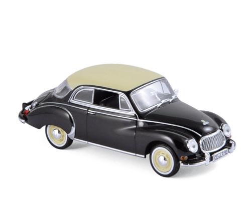 820313  DKW 3=6 Coupé 1958, zwart, Norev