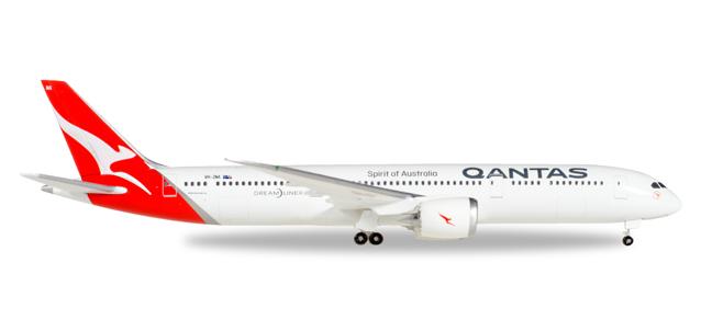 """530545  Boeing 787-9 D. """"Qantas"""", Herpa Wings"""