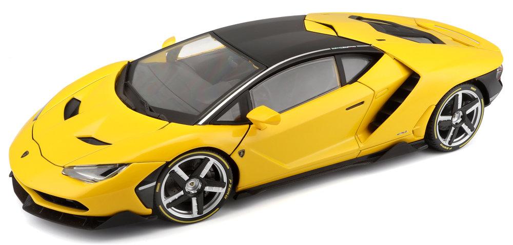 38136  Lamborghini Centenario 2016, geel, Maisto