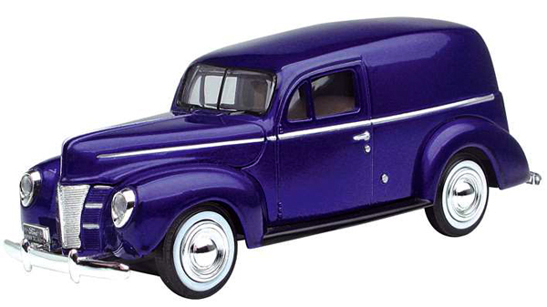 73250    Ford 1940 Sedan Delivery, paars, Motor Max