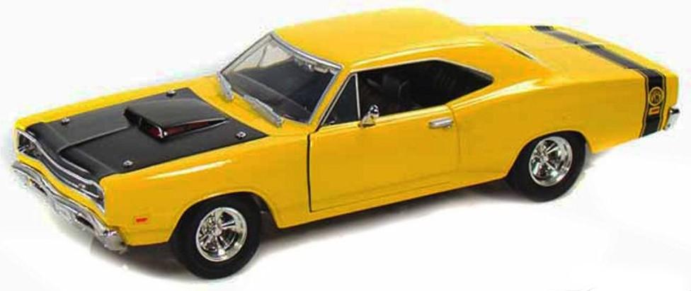 73315Y  Dodge Coronet Superbee 1969, geel, Motor Max