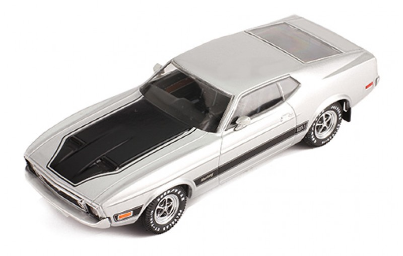 PRD398J    Ford Mustang Mach 1 1973, zilver, PremiumX