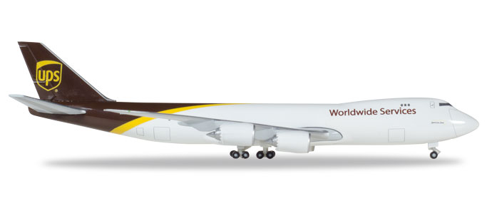 "531023    Boeing 747-8F ""UPS Airlines"", Herpa Wings"