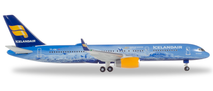 "531108    Boeing 757-200 ""Icelandair 80 Years of Aviation Vatnajökull"", Herpa Wings"