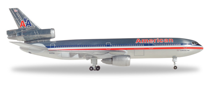 "531207    McDonnell Douglas DC-10-30 ""American Airlines"", Herpa Wings"