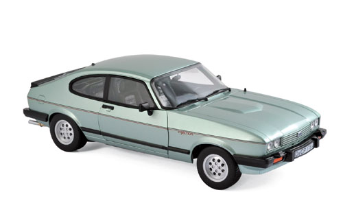 182719    Ford Capri 2.8 Injection 1982, lichtgroen met., Norev