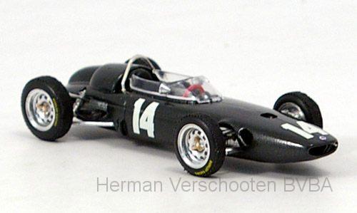 "R323  BRM P57 ""GP Italia, Monza 1962, 1° Graham Hill #14"", Brumm"