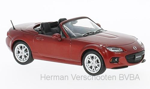 F43-067    Mazda Roadster 2013 Cooper Red, First 1:43 Models