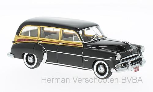 46435  Chevrolet Styleline DeLuxe Station Wagon, zwart, Neoscale Models