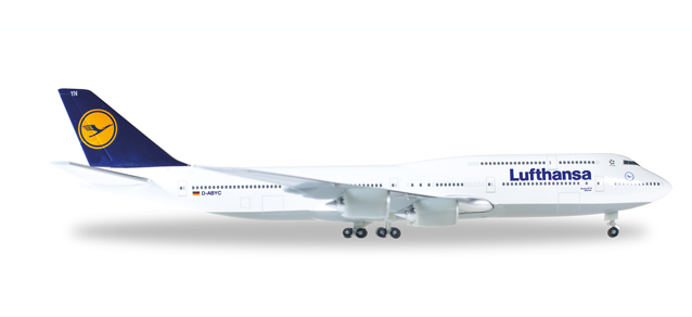 """516068-005  Boeing 747-8 I """"Lufthansa D-ABYC Sachsen"""", Herpa Wings"""