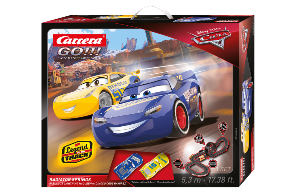 62446    Go!!! Disney·Pixar Cars - Radiator Springs, Carrera