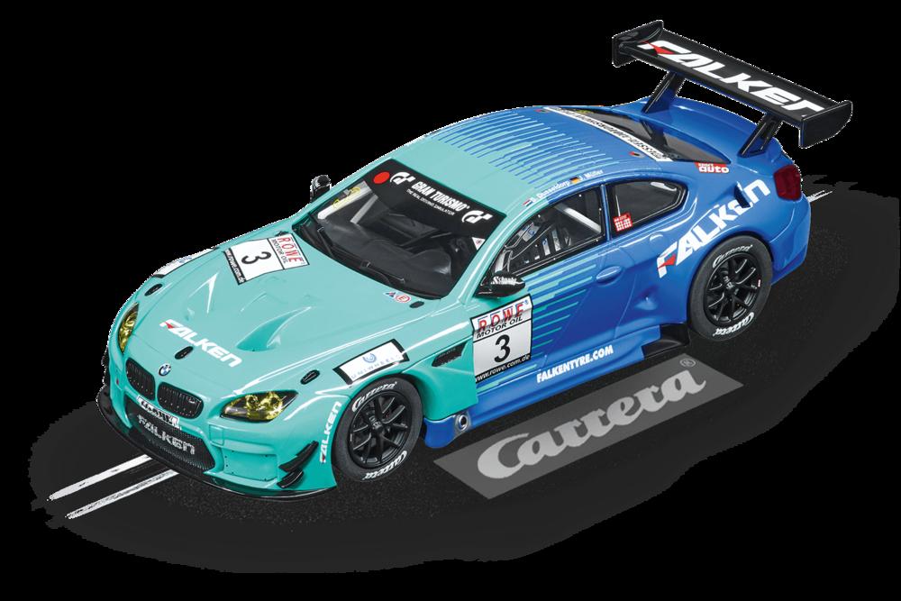 """30844  DIG132: BMW M6 GT3 """"Team Falken, No.3"""", Carrera"""