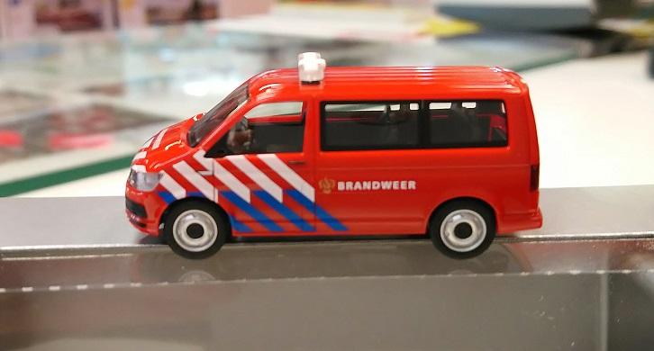 """930987  VW T6 """"Nederlandse Brandweer (NL)"""", Herpa"""