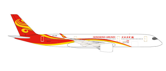 "531221    Airbus A350-900 ""Hongkong Airlines"", Herpa Wings"