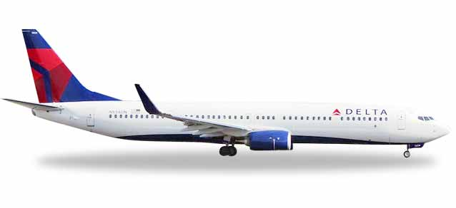 "531382    Boeing 737-900ER ""Delta Air Lines"", Herpa Wings"