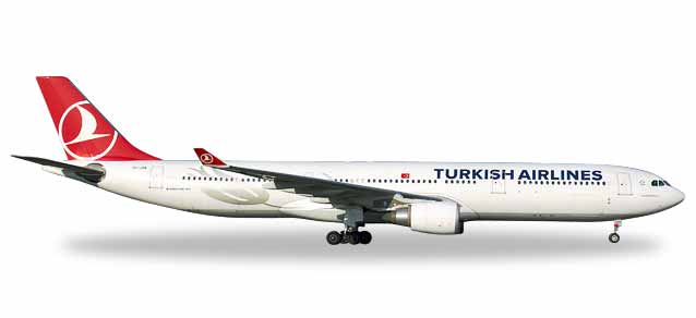 "531443    Airbus A330-300 ""Turkish Airlines"", Herpa Wings"