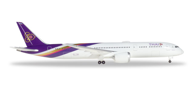 "531467    Boeing 787-9 D. ""Thai Airways"", Herpa Wings"