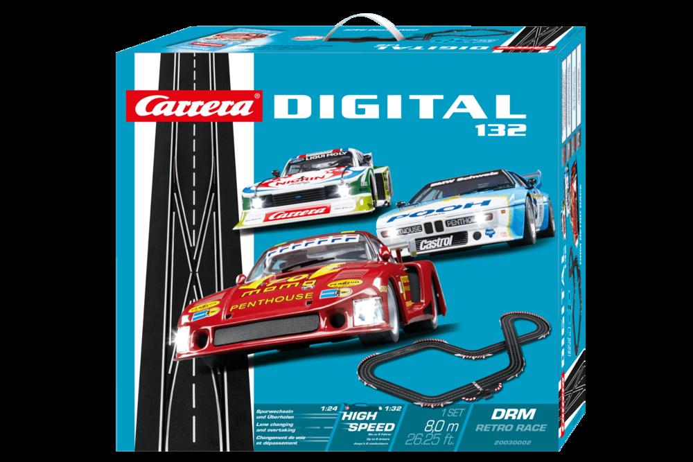 30002  DIG132: DRM Retro Race, Carrera