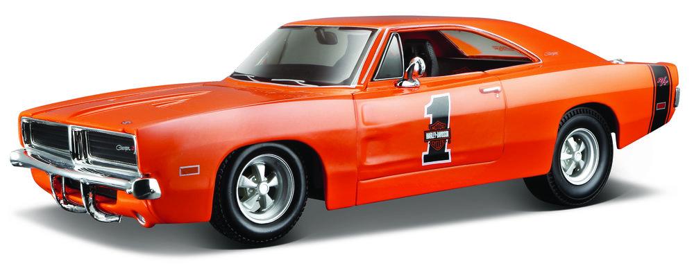 "32196  1969 Dodge Charger R/T ""Harley Davidson"", Maisto"