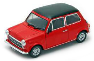 22496W    Mini Cooper 1300, rood, Welly