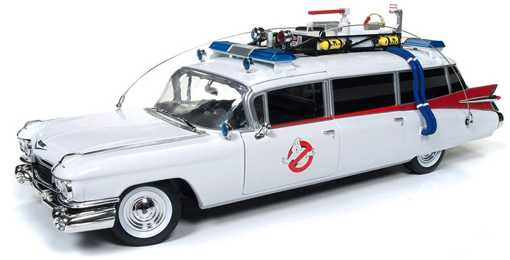 "AWSS118    Cadillac Ambulance 1959 ""Ghostbusters Ecto-1"", Auto World"