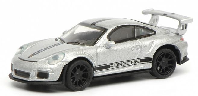 452630700  Porsche 911 GT3 RS, zilver, Schuco