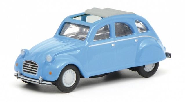 452632500  Citroën 2CV, blauw, Schuco