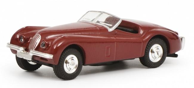 452632600  Jaguar XK120, rood, Schuco