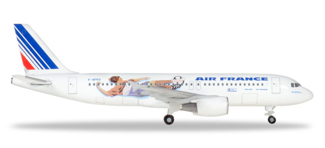 "531405 Airbus A320 ""Air France - France 1998: Netherlands/Italy"", Herpa Wings"