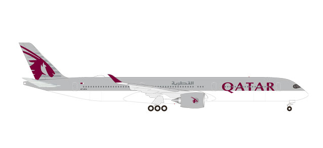 "531597 Airbus A350-1000 ""Qatar Airways"", Herpa Wings"