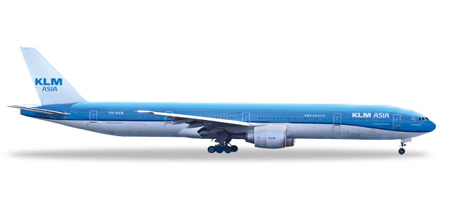 "531658 Boeing 777-300ER ""KLM Asia Fulufjället National Park (NL)"", Herpa Wings"