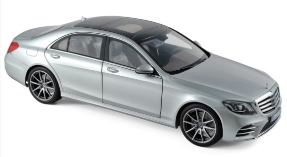 183479 Mercedes-Benz S-Klasse AMG-Line 2018, Iridium Zilver, Norev