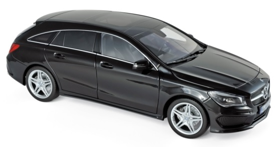 183598 Mercedes-Benz CLA Shooting Brake 2015, zwart, Norev