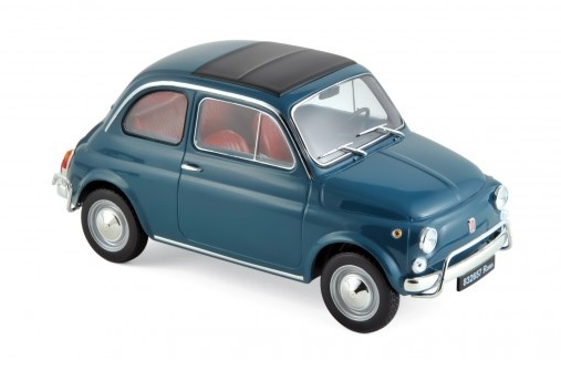 187770 Fiat 500 L 1968, blauw, Norev