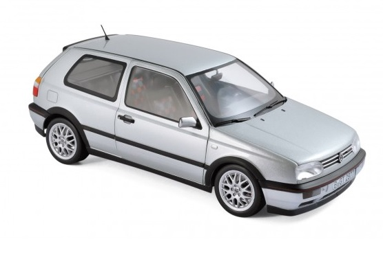 "188419 Volkswagen Golf GTI 1996, ""20 Years Anniversary Edition"", zilver, Norev"